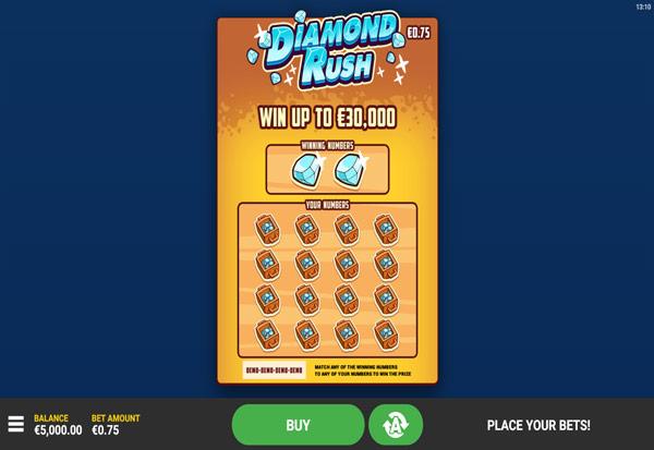 Diamond Rush 777 Slots Bay game