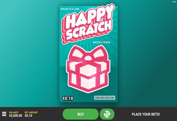 Happy Scratch 777 Slots Bay game