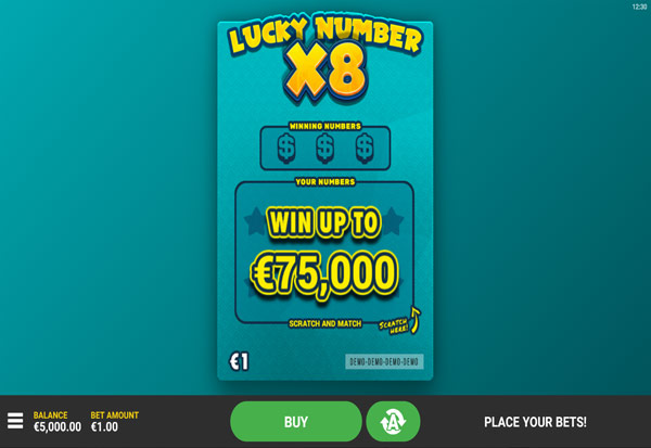 Lucky Numbers x8 777 Slots Bay game