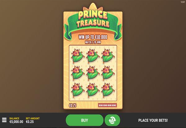 Prince Treasure 777 Slots Bay game