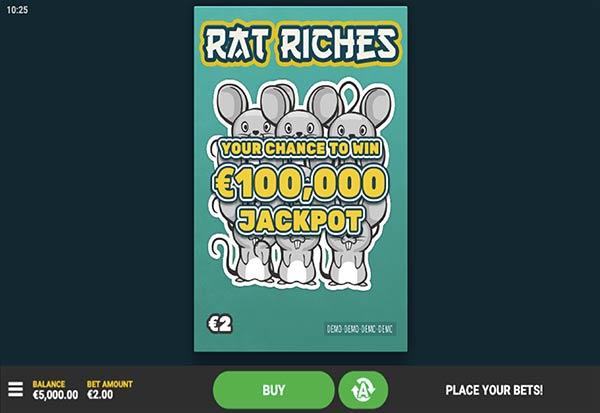 Rat Riches 777 Slots Bay game