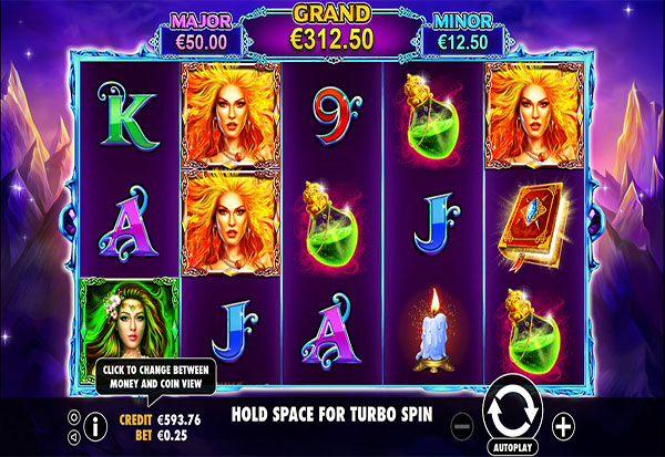 3 Witches 777 Slots Bay game