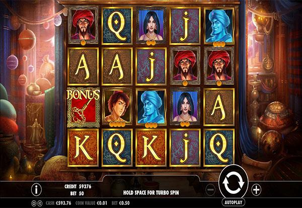 Aladdin 777 Slots Bay game