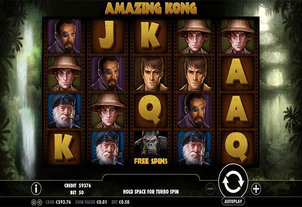Amazing Kong 777 Slots Bay game