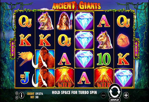 Ancient Giants 777 Slots Bay game