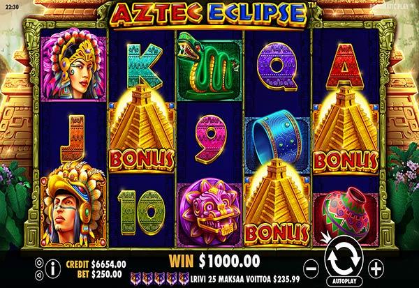 Aztec Eclipse 777 Slots Bay game