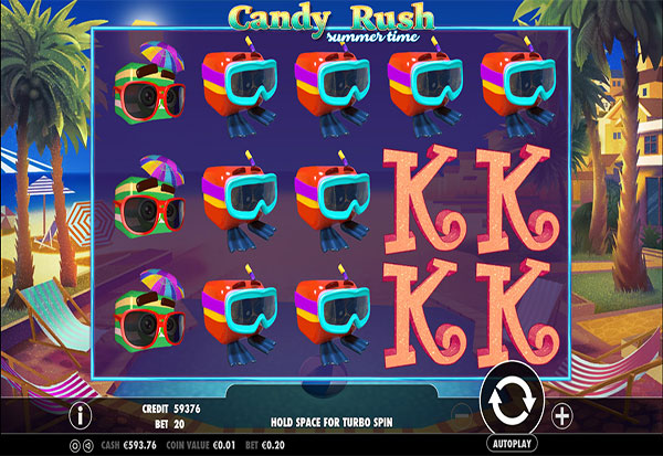 Candy Rush Summertime 777 Slots Bay game