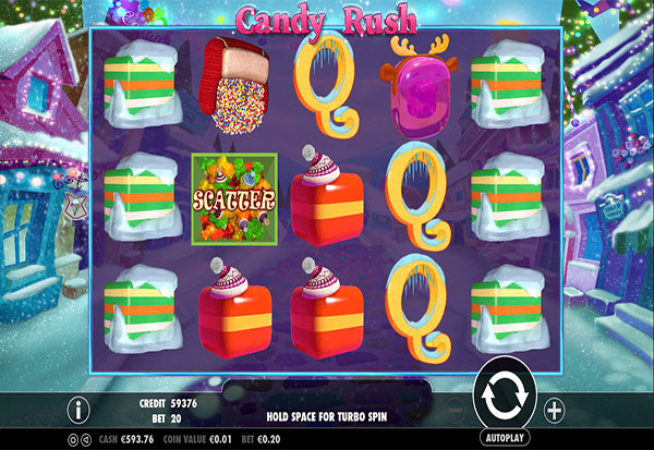 Candy Rush Winter 777 Slots Bay game