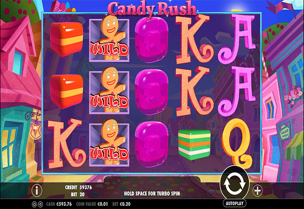 Candy Rush 777 Slots Bay game
