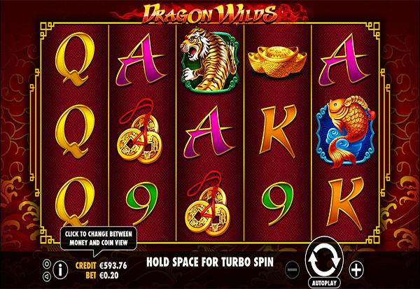 Dragon Wilds 777 Slots Bay game