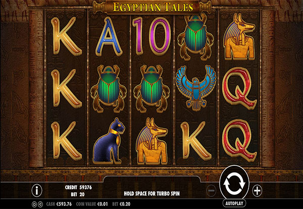 Egyptian Tales 777 Slots Bay game