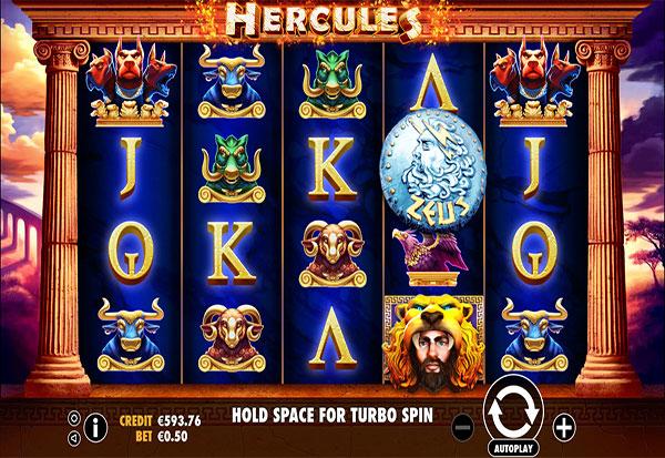 Hercules 777 Slots Bay game