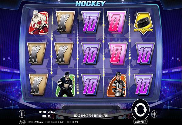Hockey 777 Slots Bay game