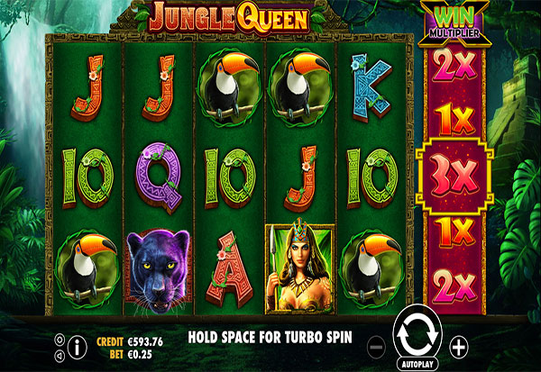 Jungle Queen 777 Slots Bay game