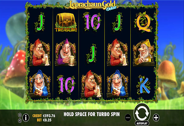 Leprachaun Gold Deluxe 777 Slots Bay game