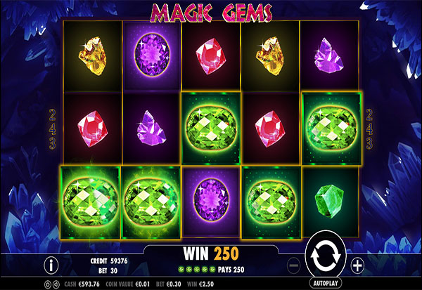 Magic Gems 777 Slots Bay game