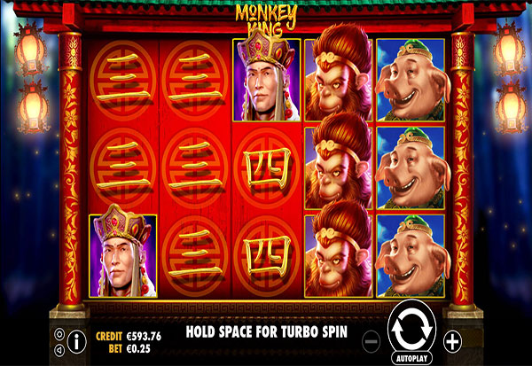 Monkey King 777 Slots Bay game