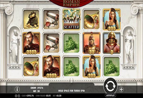 Roman Empire 777 Slots Bay game