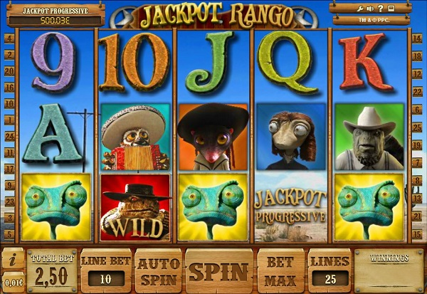 Jackpot Rango 777 Slots Bay game