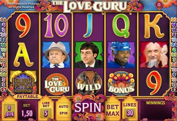 Love Guru 777 Slots Bay game