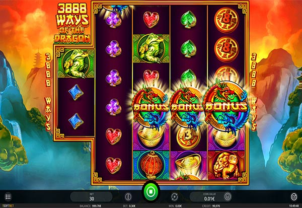 3888 Ways Of The Dragon 777 Slots Bay game