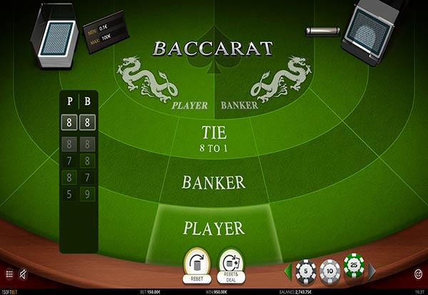 Baccarat 777 Slots Bay game