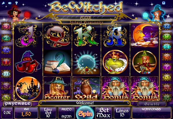 Bewitched 777 Slots Bay game