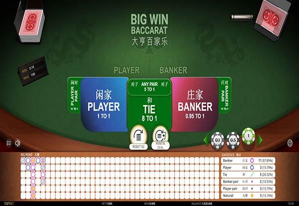 Big Win Baccarat 777 Slots Bay game
