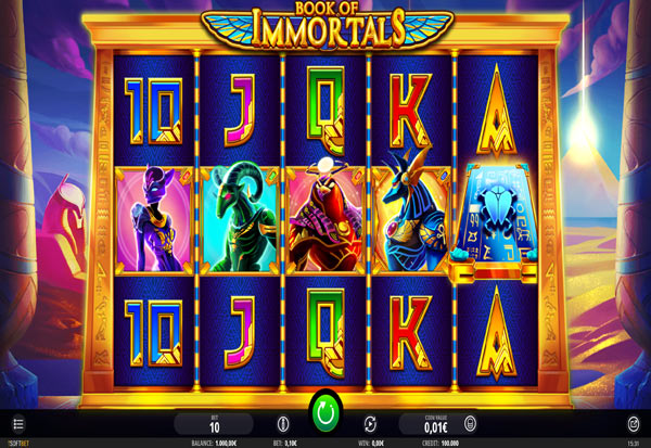 Book of Immortals 777 Slots Bay game