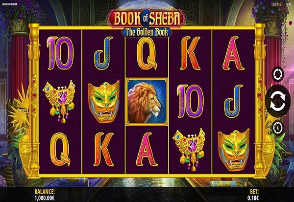 Book of Sheba 777 Slots Bay game