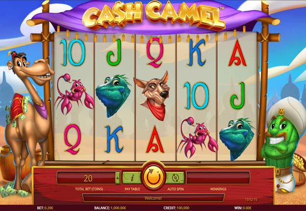 Cash Camel 777 Slots Bay game