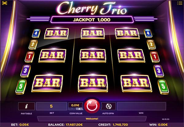 Cherry Trio 777 Slots Bay game