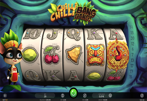 Chilli Chilli Bang Bang 777 Slots Bay game