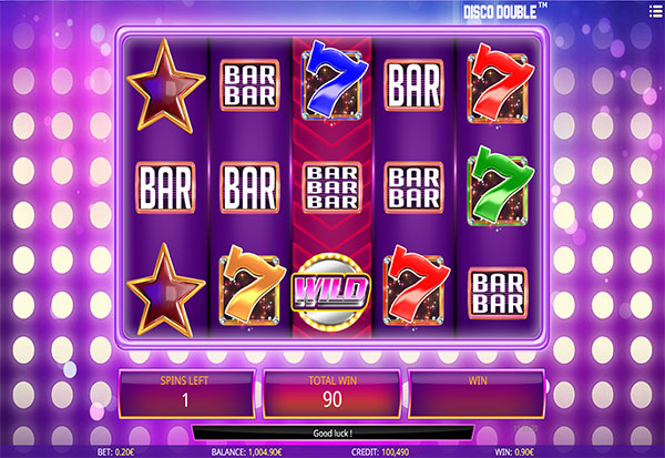 Disco Double 777 Slots Bay game