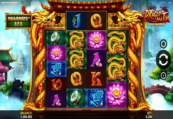 Dragon Match Megaways 777 Slots Bay game
