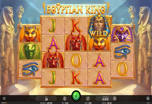 Egyptian King 777 Slots Bay game