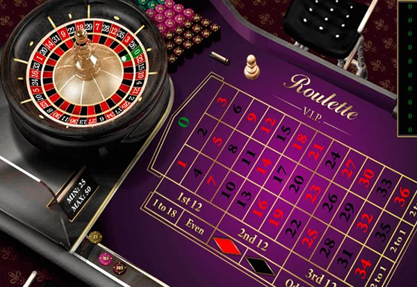 European Roulette VIP 777 Slots Bay game