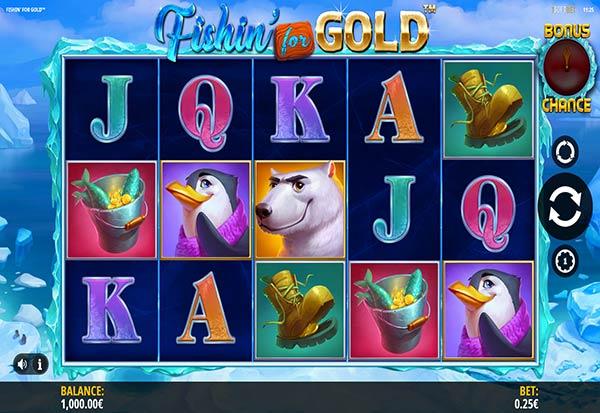 Fishin' for Gold 777 Slots Bay game