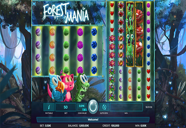 Forest Mania 777 Slots Bay game
