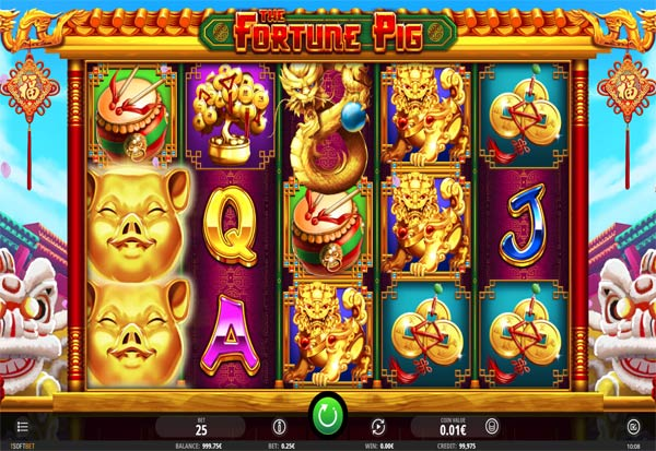 Fortune Pig 777 Slots Bay game