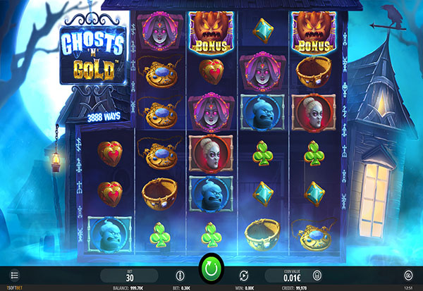 Ghosts and Gold 777 Slots Bay game