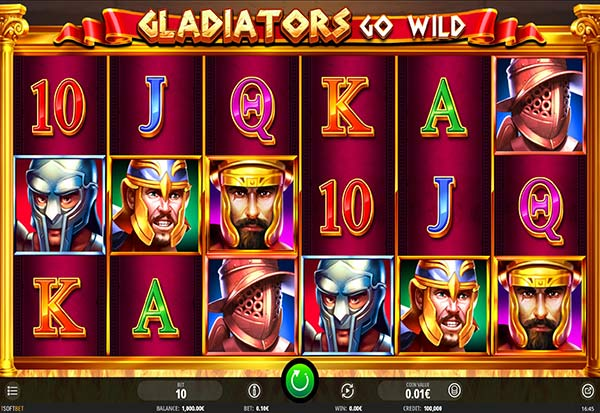 Gladiators Go Wild 777 Slots Bay game