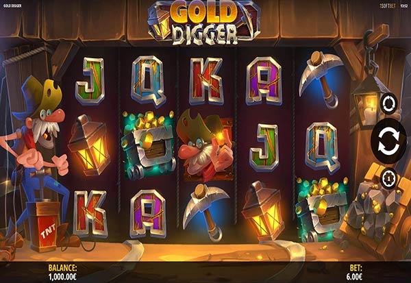 Gold Digger 777 Slots Bay game