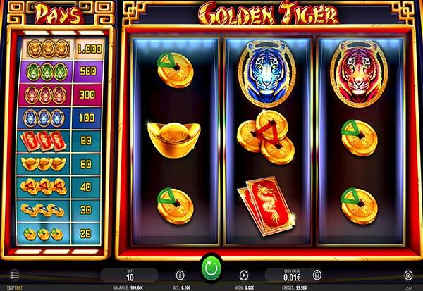 Golden Tiger 777 Slots Bay game