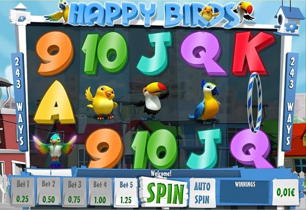 Happy Birds 777 Slots Bay game