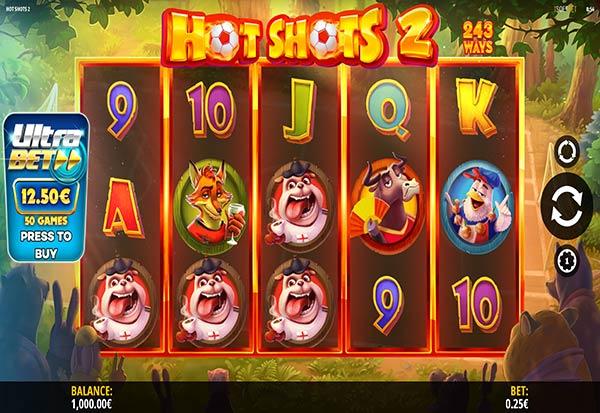 Hot Shots 2 777 Slots Bay game