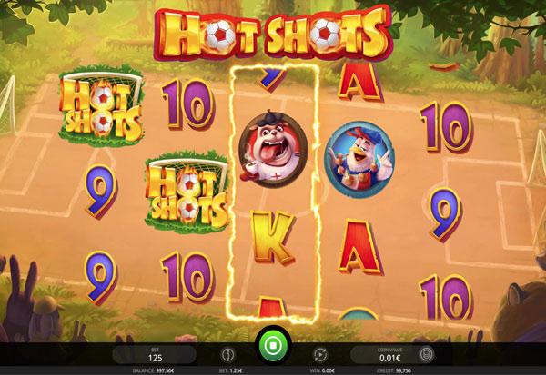 Hot Shots 777 Slots Bay game