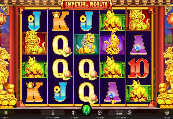 Imperial Wealth 777 Slots Bay game