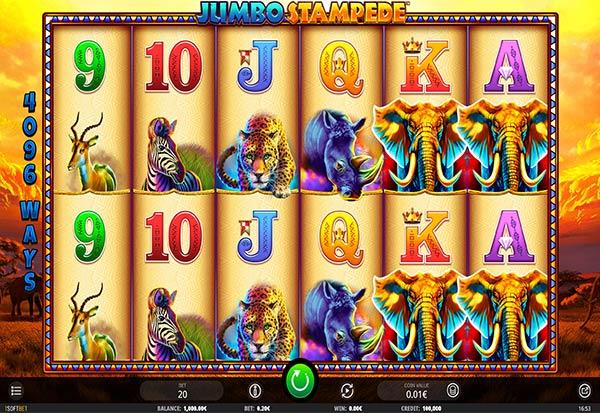 Jumbo Stampede 777 Slots Bay game