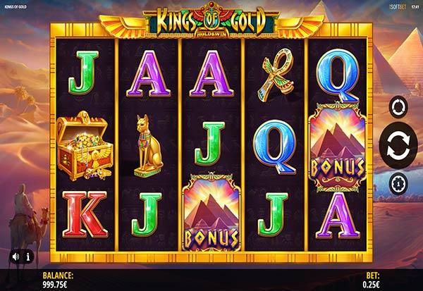 Kings of Gold 777 Slots Bay game